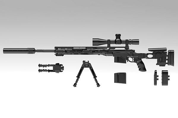 TOMYTEC 1/12 迷你武裝 Little Armory LA063 XM2010 Type 組裝模型 TOMYTEC,迷你武裝,1/12, Little Armory,LA062,M14EBR-RI型
