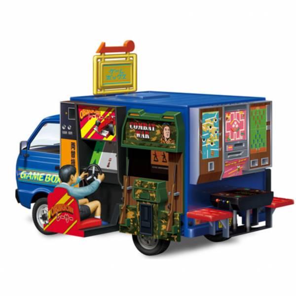 AOSHIMA 青島 1/24 行動餐車 #4 遊戲場 組裝模型  AOSHIMA,青島,1/24,行動餐車,#4,遊戲場,組裝模型,