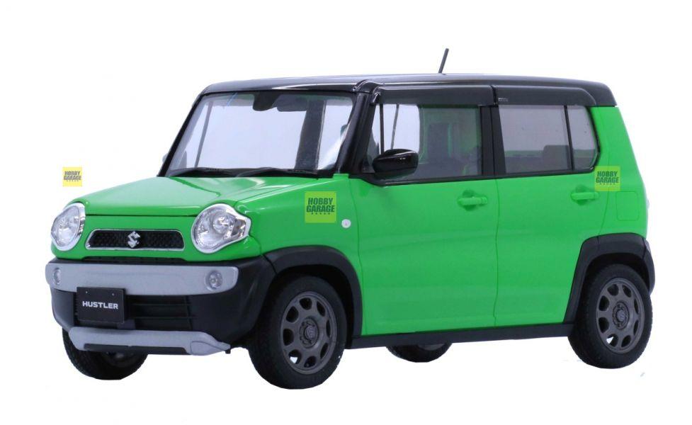 1/24 SUZUKI HUSTLER 清新綠 FUJIMI 車NX11EX3 富士美 組裝模型 FUJIMI,1/24,NEXT,SUZUKI,HUSTLER,金屬珍珠綠,