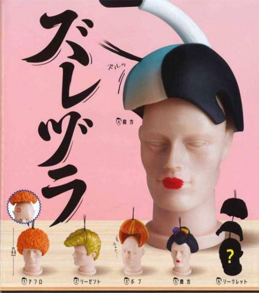 EPOCH 扭蛋 假髮人頭吊飾 全6種 隨機8入販售 EPOCH,扭蛋,假髮人頭吊飾,全6種