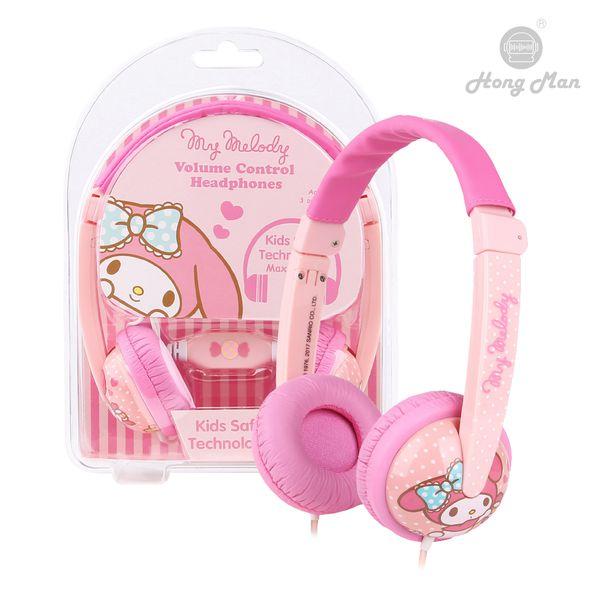 Hong Man 三麗鷗 耳罩式兒童耳機 美樂蒂 My Melody Hong Man,三麗鷗,耳罩式,兒童耳機,美樂蒂,My Melody