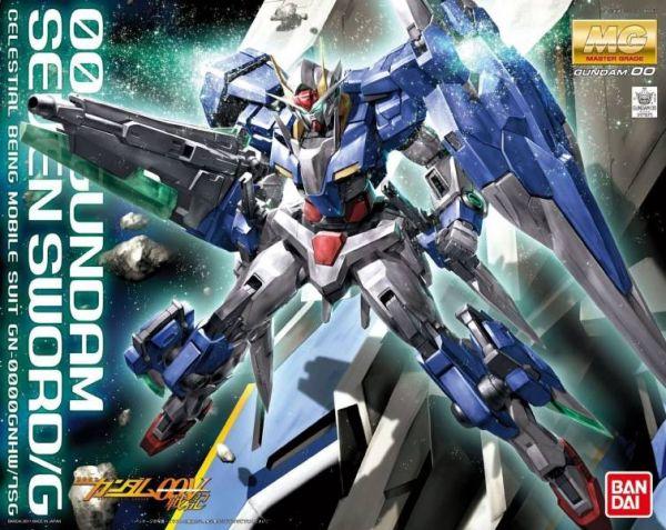 BANDAI MG 1/100 00 OO 七劍 SEVEN SWORD/G 組裝模型 BANDAI ,MG ,1/100 ,00 ,OO ,七劍 ,SEVEN SWORD/G ,組裝模型