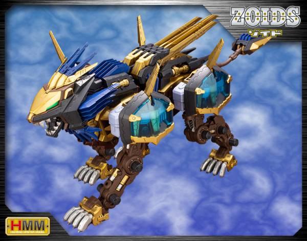 Kotobukiya 壽屋 HMM 機獸新世紀 ZOIDS 洛伊德 1/72 EZ-054 長牙獅零式 X 組裝模型  Kotobukiya,1/72,HMM,機獸新世紀,ZOIDS,洛伊德,RZ-028,重劍長牙獅,組裝模型