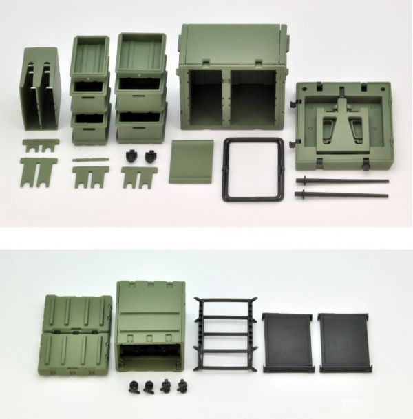 Tomytec 1/12 迷你武裝 LD033 野戰桌 SET A 組裝模型 Tomytec,1/12,迷你武裝,LD033,野戰桌,SET A,組裝模型,