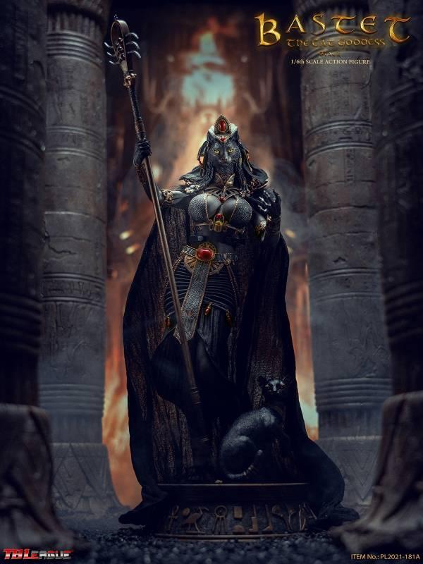 TBLeague 1/6 埃及神系列 貓神 巴斯泰托 黑色 可動完成品  TBLeague,1/6,埃及神系列,貓神,巴斯泰托,黑色,可動完成品,