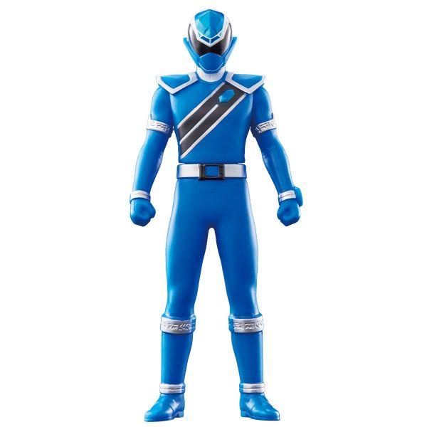 BANDAI 魔進戰隊 軟膠系列04 閃耀藍 可動公仔 BANDAI,魔進戰隊,軟膠,閃耀藍