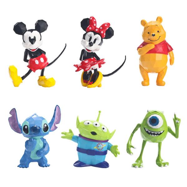 千值練 盒玩 POLYGO 迪士尼 迷你公仔收藏套組 一中盒販售 千值練,POLYGO,迪士尼,迷你公仔收藏套組