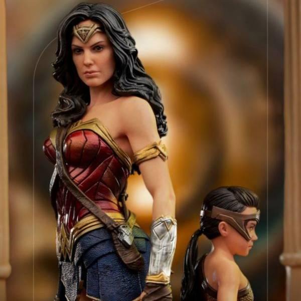 Iron Studios 1/10 神力女超人&兒時黛安娜 豪華版雕像 DC WW1984 Iron Studios 1/10 DC WW1984 神力女超人&兒時黛安娜 豪華版雕像