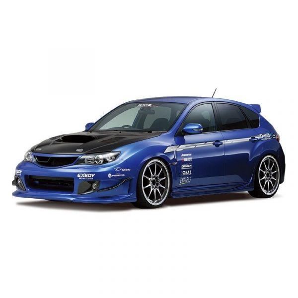 [再販] AOSHIMA 青島 1/24 改裝車 #35 速霸陸Subaru ings GRB IMPREZA WRX STI '07 組裝模型 AOSHIMA,青島,1/24,改裝車,速霸陸,Subaru ings GRB IMPREZA WRX STI '07