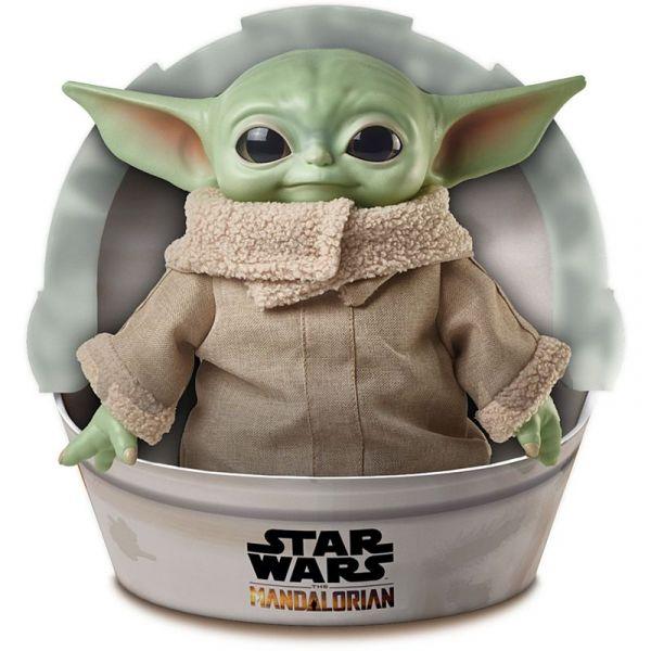 Mattel 美泰兒 1/1 星際大戰 曼達洛人 尤達寶寶 絨毛玩偶 Baby Yoda The Child Plush Matte,美泰兒,The Child PLUSH,星際大戰 曼達洛人,尤達寶寶,絨毛玩偶
