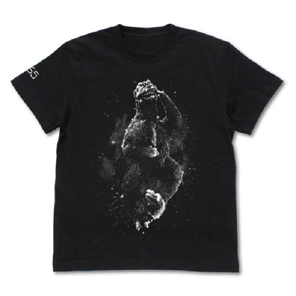 COSPA 哥吉拉1965 怪獸大戰爭 短袖T恤 黑色  COSPA,哥吉拉1965,怪獸大戰爭,短袖T恤
