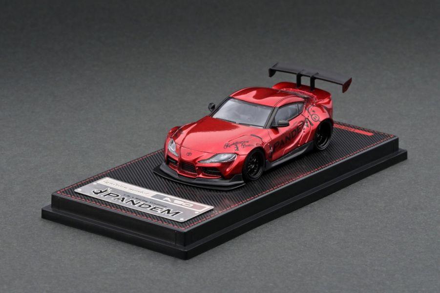 ignition model 1/64 豐田 Pandem Supra A90 金屬紅 ignition,model,1/64,豐田,Pandem,Supra A90,金屬紅,