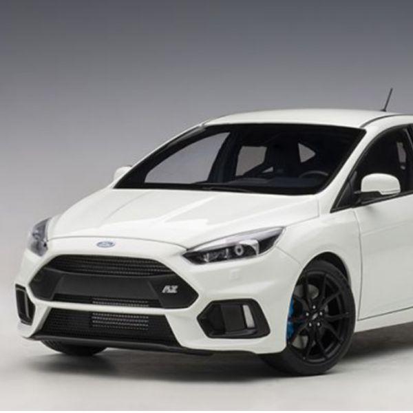 AUTOart 1/18 福特 FORD FOCUS RS 2016 FROZEN WHITE 合金模型 AUTOart,1/18,福特,FORD FOCUS RS 2016 FROZEN WHITE,合金車