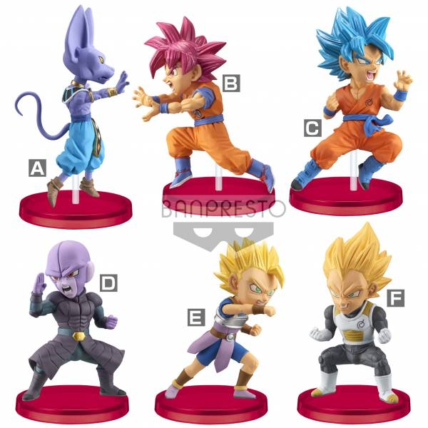 BANPRESTO 盒玩 七龍珠超 WCF BATTLE OF SAIYANS Vol.5 全6種 一中盒12入販售 BANPRESTO ,景品,七龍珠超,WCF,BATTLE OF SAIYANS Vol.5