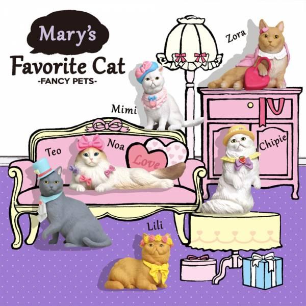 DREAMS 盒玩 Mary's favorite Cat 瑪莉最愛的時尚貓咪 全6種+1隱藏 盲盒 一中盒12入販售 DREAMS,盒玩, Mary's favorite Cat,貓咪