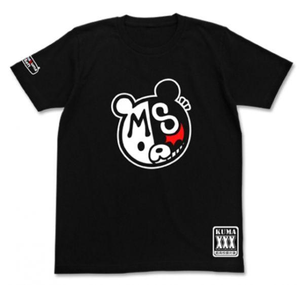 [再販] COSPA 槍彈辯駁1・2 黑白熊 Soft 短袖T恤 黑色 [再販],COSPA,槍彈辯駁1・2,黑白熊,Soft,短袖T恤,黑色,