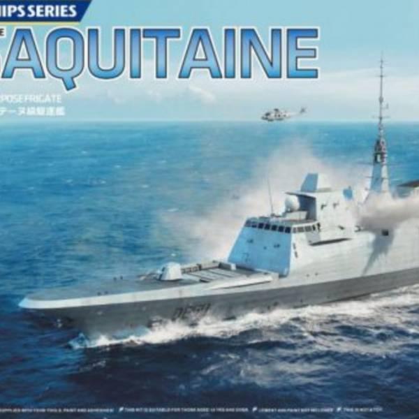 Freedom 1/700 FREMM D650 AQUITAINE 現代法國海軍 阿基坦級 D650 阿基坦巡防艦 組裝模型 Freedom,1/700,現代法國海軍,阿基坦級,D650 阿基坦巡防艦,FREMM D650 AQUITAINE