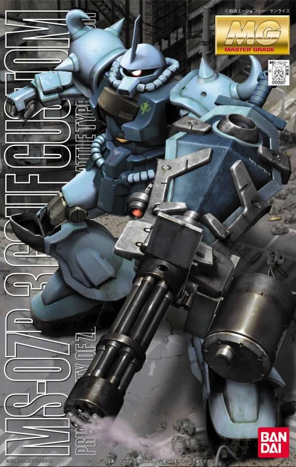 BANDAI MG 1/100 MS-07B3 古夫特裝型 機動戰士鋼彈 組裝模型 BANDAI ,1/100, MG ,MS-07,古夫