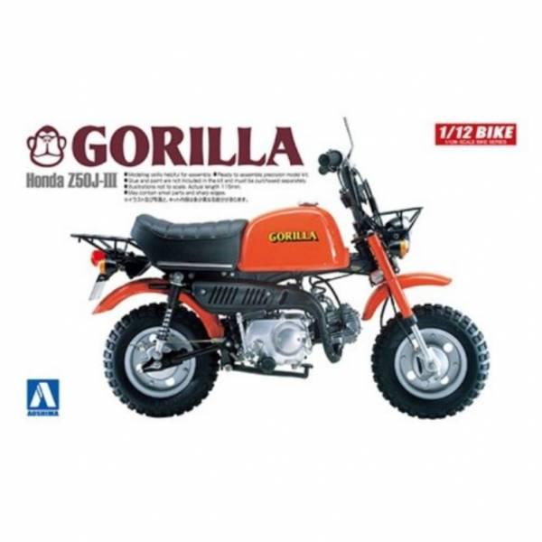 AOSHIMA 1/12 機車  No.20 本田 Honda GORILLA 組裝模型  AOSHIMA,112,機車,No,20,本田,Honda,GORILLA,組裝模型,