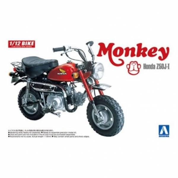 AOSHIMA 1/12 機車  No.19 本田 猴子 Honda Monkey 組裝模型  AOSHIMA,112,機車,No19,本田,Honda,Monkey,組裝模型,