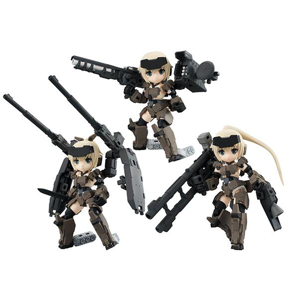 MegaHouse 盒玩 DESKTOP ARMY 骨裝機娘 KT-321f 轟雷 Ver.1.2  一中盒3入販售 MegaHouse,DESKTOP ARMY,骨裝機娘,KT-321f,轟雷,Ver.1.2,盒玩