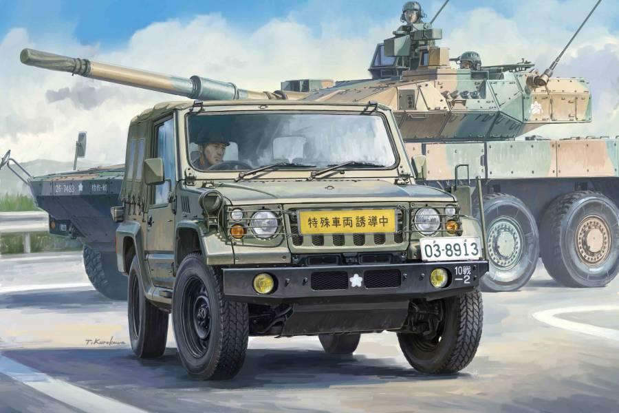 1/72 陸上自衛隊 1/2噸 軍卡 V17型/部隊用 3輛套組 FUJIMI Mi24 富士美 組裝模型 FUJIMI,1/72,ML,Mi,陸上自衛隊,1/2噸,軍卡,V17型,部隊用,