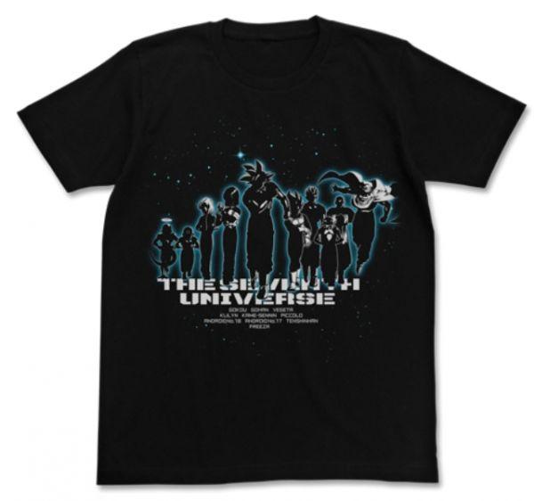 [再販] COSPA 七龍珠超 第七宇宙 短袖T恤 黑色 COSPA,七龍珠超,第七宇宙,短袖T恤,黑色,