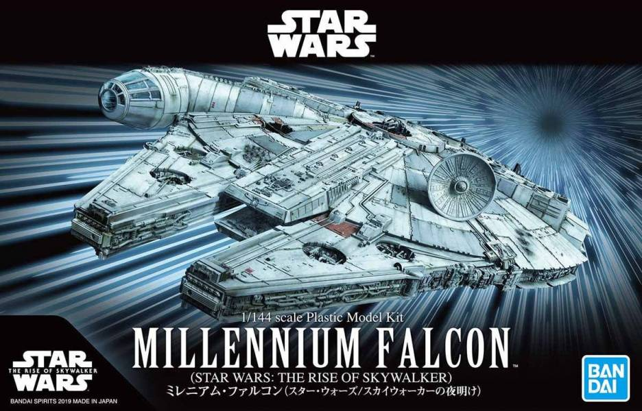 BANDAI 1/144 星際大戰 天行者的崛起 千年鷹號 組裝模型 BANDAI,星際大戰,Star Wars 星際大戰