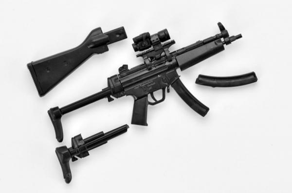 TOMYTEC 1/12 迷你武裝 LA0033 MP5A4/5型 TOMYTEC,1/12,迷你武裝,LA0033,MP5A4/5型