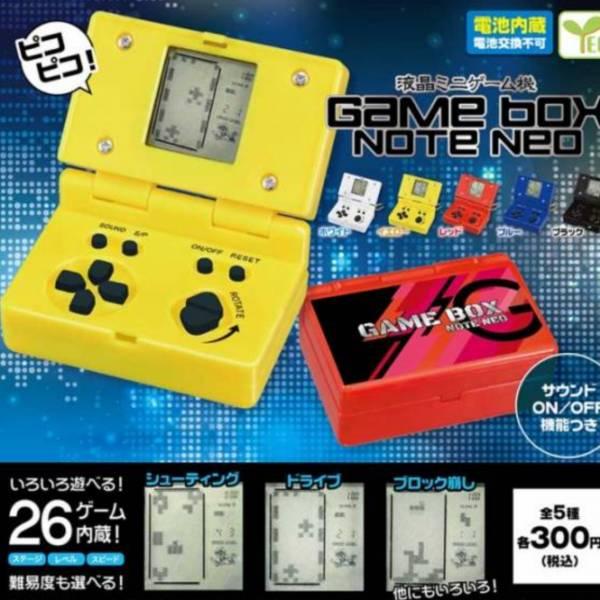 YELL 扭蛋 迷你遊戲機BOX NOTE NEO篇 全5種販售 YELL,扭蛋,迷你遊戲機,BOX NOTE NEO,篇, 全5種販售,