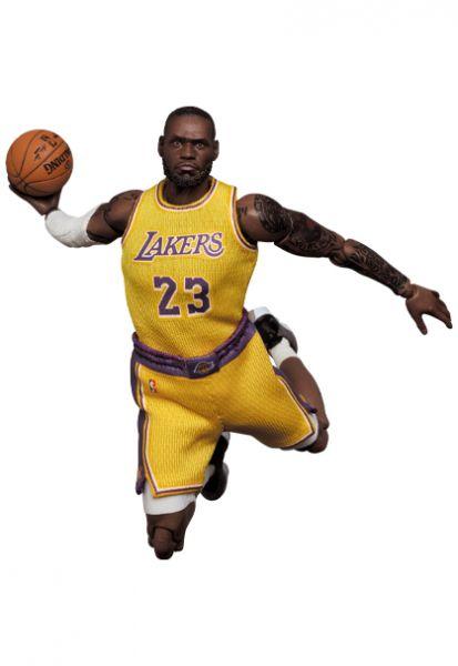 MEDICOM TOY MAFEX NBA 洛杉磯湖人隊 LeBron James 勒布朗·詹姆士 雷霸龍 六步朗 可動公仔 MEDICOM TOY,MAFEX,NBA,洛杉磯湖人隊,LeBron James 勒布朗·詹姆士,雷霸龍,六步朗