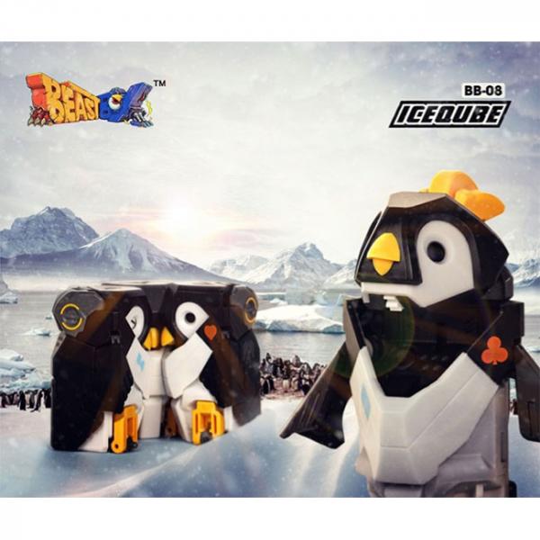 52Toys 猛獸匣 BEAST BOX 冰塊系列 萌寵 企鵝  52Toys,猛獸匣,BEAST BOX,冰塊系列,萌寵 企鵝, BB08  ICE QUBE