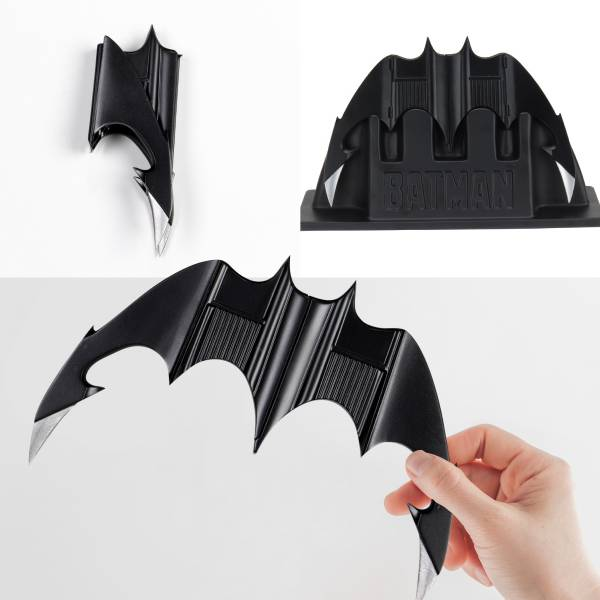 NECA 蝙蝠俠系列電影 蝙蝠俠 (1989) 蝙蝠迴力鏢 Batarang NECA,蝙蝠俠,系列電影,蝙蝠俠,(,1989,),蝙蝠迴力鏢,Batarang,