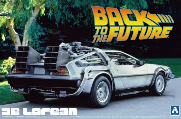 AOSHIMA 1/24 回到未來 Back To The Future  DeLorean Ⅰ 組裝模型 AOSHIMA,1/24,回到未來,Back To The Future,DeLorean Ⅰ