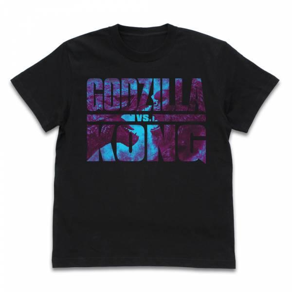 COSPA 哥吉拉大戰金剛 Logo 短袖T恤 黑色 COSPA,哥吉拉大戰金剛,短袖T恤,黑色,Logo,
