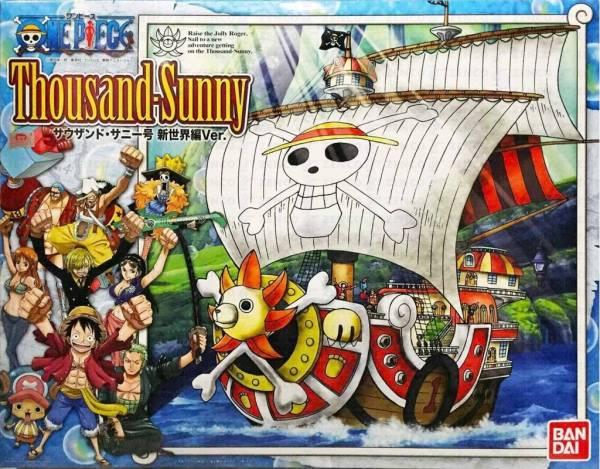 [11月再販] BANDAI 海賊王 無比例 草帽海賊團 千陽號 組裝模型 新世界編Ver. 海賊王 ,無比例 ,草帽海賊團 ,千陽號 ,組裝模型 ,新世界編Ver.