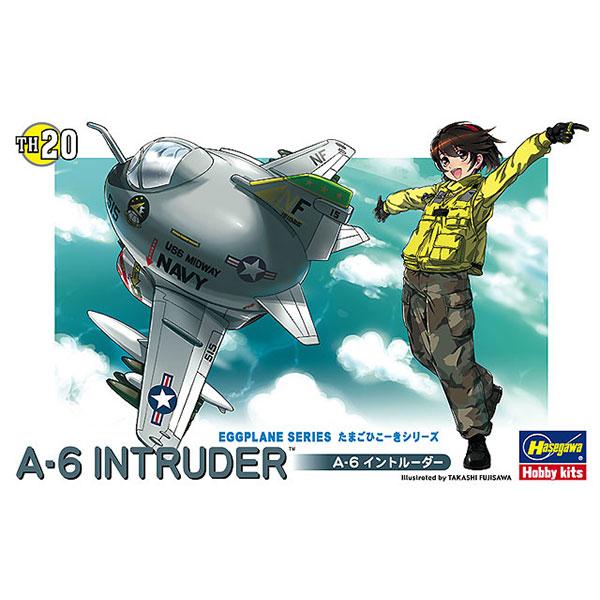 Hasegawa 蛋機 A-6入侵者式攻擊機 組裝模型 Hasegawa,蛋機,A-6入侵者式攻擊機