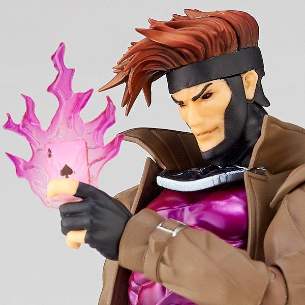 海洋堂 / X戰警 金牌手 / 牌皇 / Gambit / AMAZING YAMAGUCHI NO.012 / 漫威MARVEL / 山口輪轉可動 / KAIYODO  KAIYODO,AMAZING YAMAGUCHI,山口輪轉可動,NO.012,漫威MARVEL,X戰警,金牌手/牌皇,Gambit