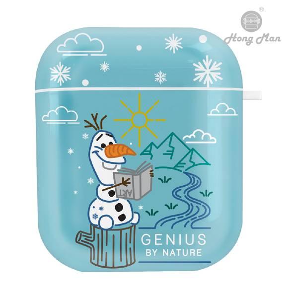 CAMINO 迪士尼 冰雪奇緣2 雪寶Olaf AirPods防塵耐磨保護套  CAMINO,迪士尼,冰雪奇緣2,雪寶,Olaf,AirPods保護套