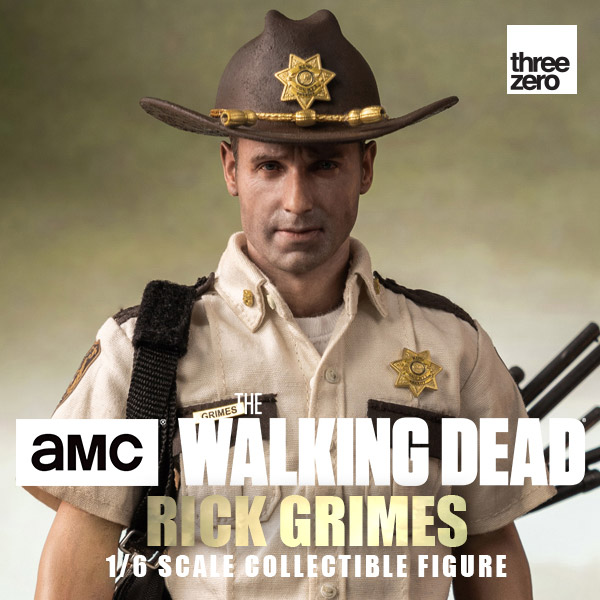 threezero 1/6 陰屍路 瑞克格萊姆斯 Rick Grimes 30公分 可動完成品 threezero,1/6,陰屍路,瑞克格萊姆斯,Rick Grimes,30公分 ,可動完成品,