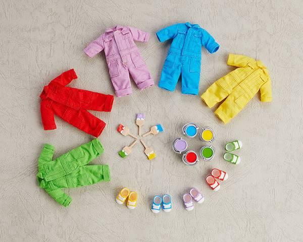 GOOD SMILE 黏土娃 服裝套組 彩色工作服 全五種 個別分售 GOOD SMILE,黏土娃,服裝套組,彩色工作服
