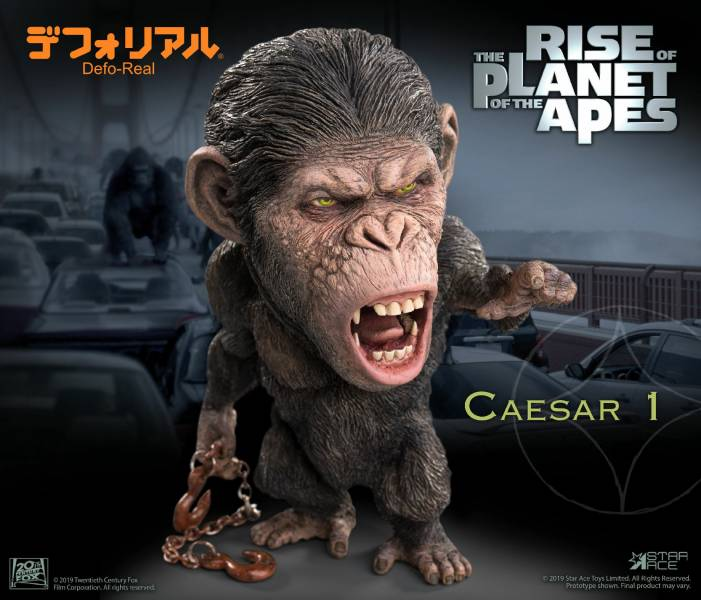 Star Ace Toys Defo-Real 猩球崛起 凱撒 Rise of the Planet of the Apes Caesar  豪華版 標準版 Star Ace Toys,Defo-Real,猩球崛起,凱撒,Rise of the Planet of the Apes Caesar  豪華版 標準版