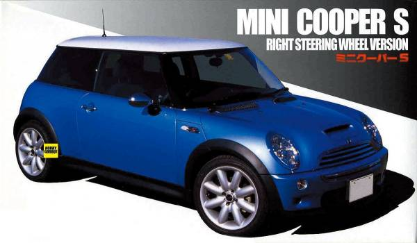1/24 MINI Cooper S FUJIMI RS64 富士美 組裝模型 FUJIMI,1/24,RS,MINI,Cooper,S,