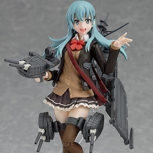 GOOD SMILE Max Factory Figma 艦隊Collection 鈴谷改二 PVC Max Factory,Figma,艦隊Collection,鈴谷改二,PVC