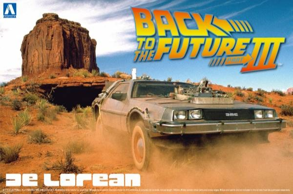 AOSHIMA 1/24 回到未來 Back To The Future  DeLorean II 組裝模型 AOSHIMA,1/24,回到未來,Back To The Future,DeLorean III