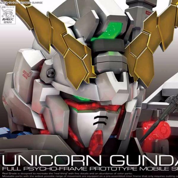 BANDAI RG 1/144 #025 RX-0 獨角獸鋼彈 鋼彈UC (標準版封面) 獨角獸鋼彈,RG,鋼彈UC