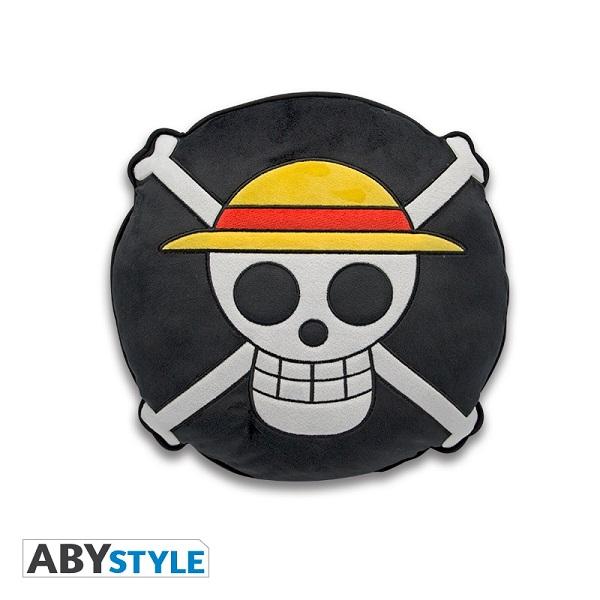 ABY STYLE 航海王 骷髏抱枕 一組2入販售 ABY,STYLE,航海王,骷髏,抱枕
