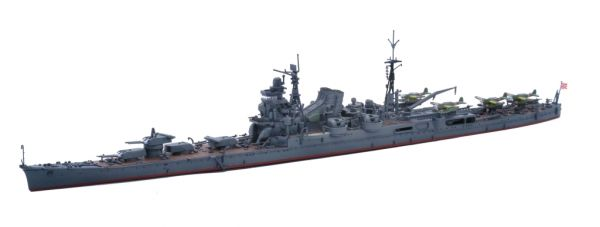 1/700 重巡洋艦 利根 1944 雷伊泰灣海戰時 FUJIMI 特090 日本海軍 富士美 水線船 組裝模型 FUJIMI,1/700,特,EX,日本海軍,重巡洋艦,利根,1944,,