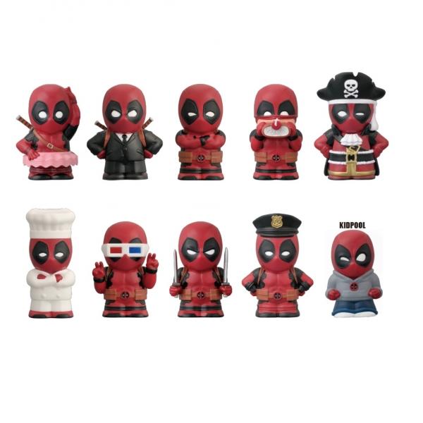 ENSKY / 盒玩 / 漫威 MARVEL / 死侍Deadpool / 變裝系列 / 全10種 / 一中盒10入販售 ENSKY,盒玩,漫威,MARVEL,死侍,Deadpool,變裝系列