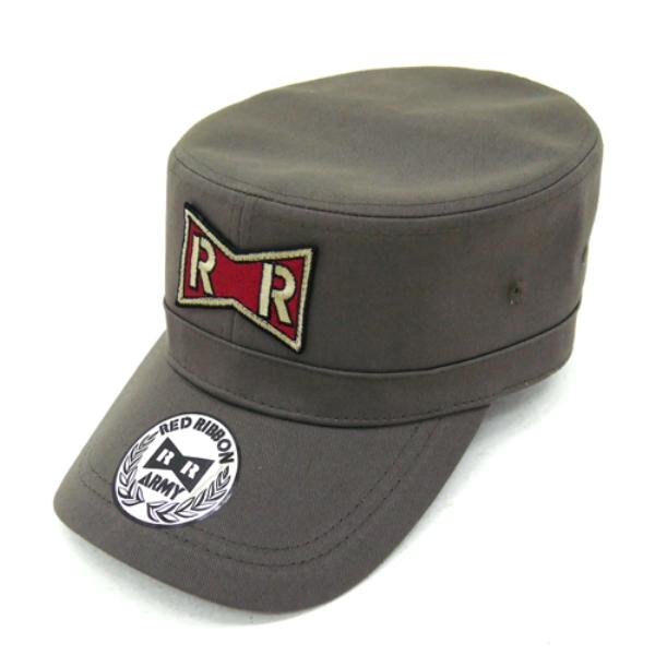 [再販] COSPA 七龍珠改 紅絲帶軍刺繡工作帽 灰褐色 COSPA,七龍珠改,紅絲帶軍刺繡工作帽,灰褐色